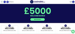casinoBTC promotions