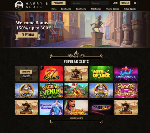 harrys slots casino review